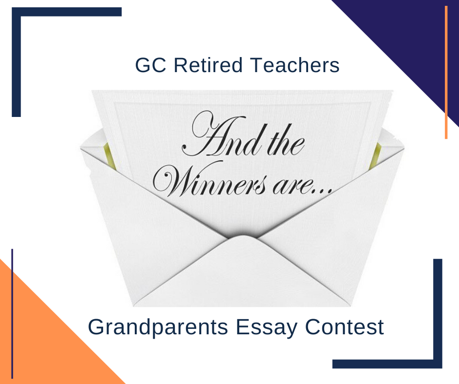 Retired Teachers Announce Grandparent Essay Winners