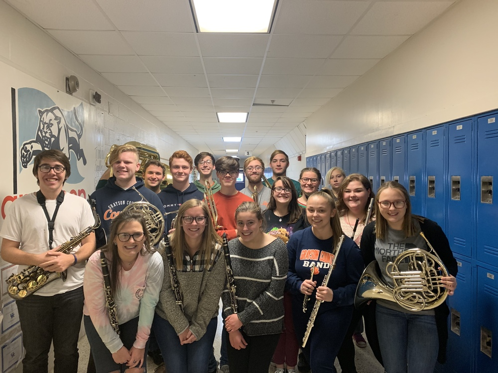 Band Takes District Honors and More