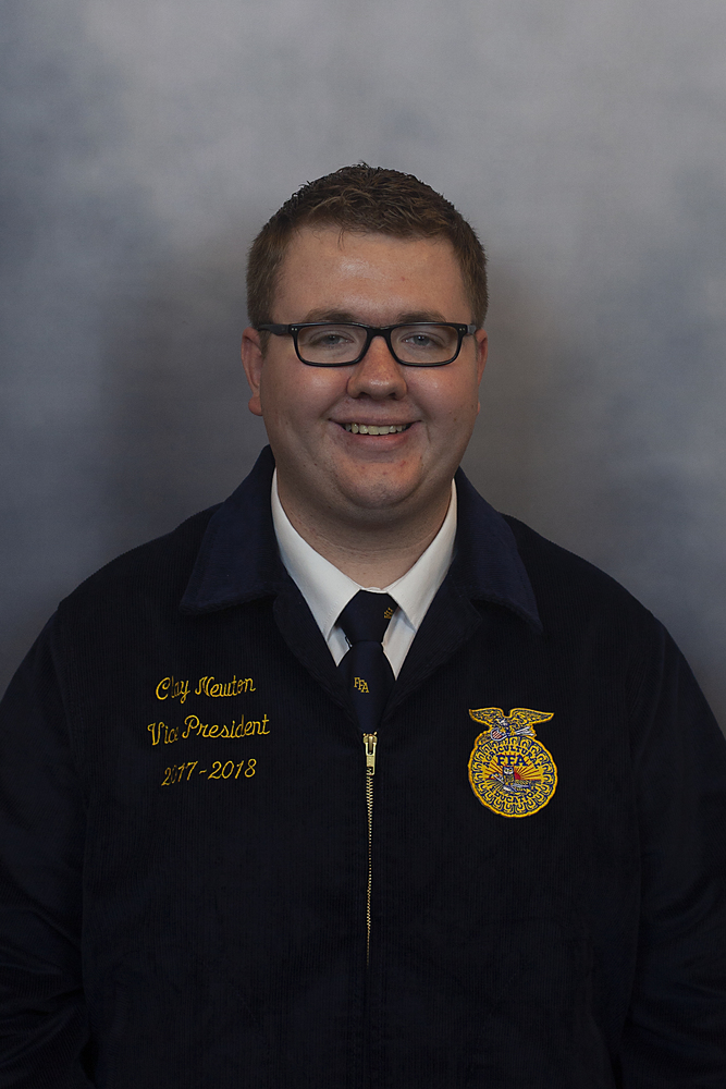 Clay Newton Elected State FFA Officer