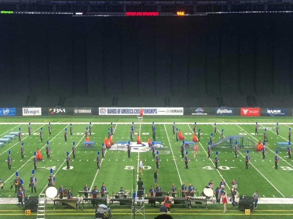 Marching Cougars Place Top 10 on National Stage
