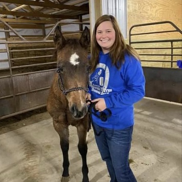 GCHS Senior Selected for Prestigious Equine Program