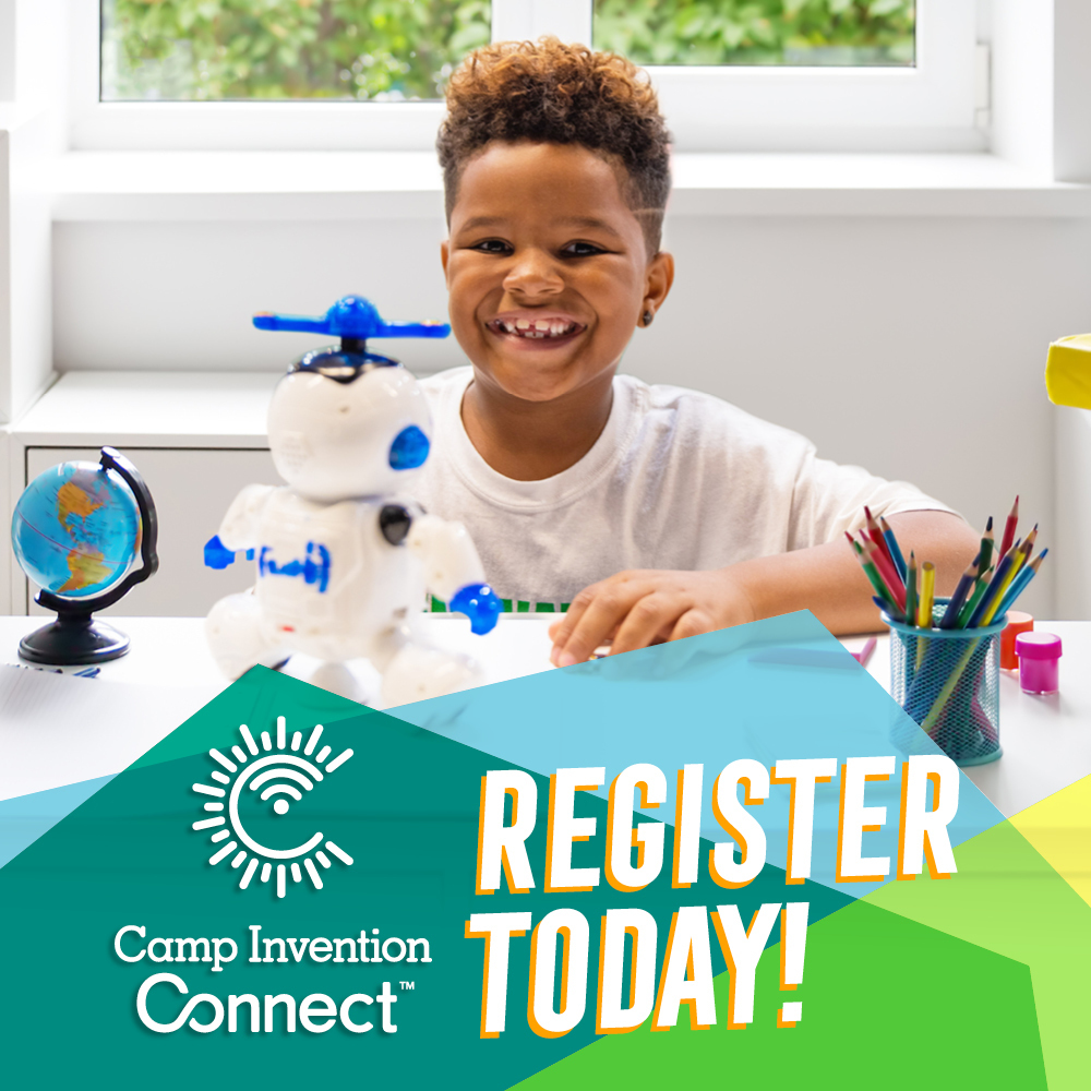 Registration Open: Camp Invention Goes Virtual, June 22 - 26