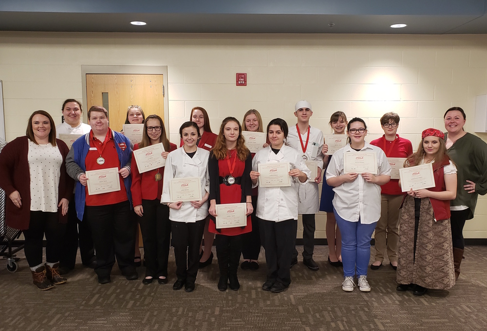 FCCLA Sweeps 1st, 2nd at Regionals