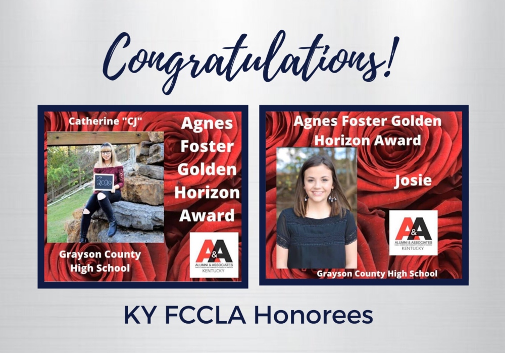 FCCLA Seniors Earn State Leadership Award