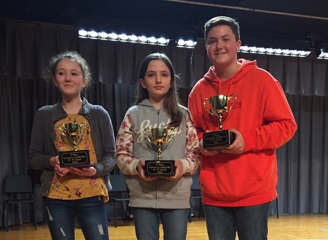 Spelling Bee Winners Announced
