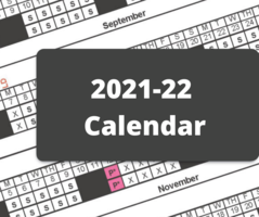 Feedback Sought for 2021-22 School Year Calendar
