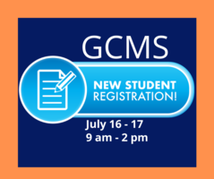 GCMS to Hold New Student Registration