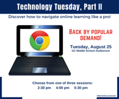 Tech Tuesday, Part II Coming August 25