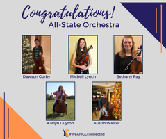 All-State Orchestra to Feature Five GCHS Musicians