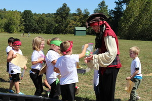 Kindergarten Enjoyed Pirate & Water Day