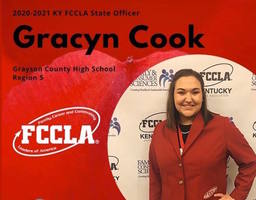 Gracyn Cook Selected KY FCCLA Officer