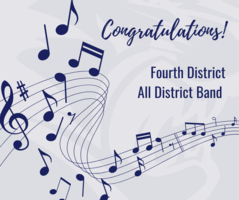 All-District Band Members Selected