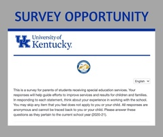 Survey Seeks Special Ed Parent Feedback