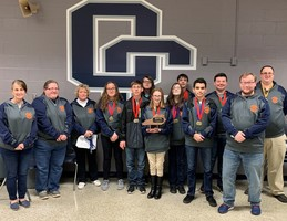 GCHS Academic Team Places Second in Governor's Cup District Tournament