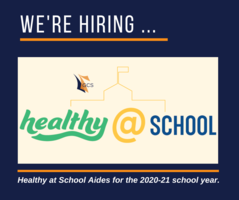 GCS Hiring for 2020-21: Part-Time, Flexible Positions