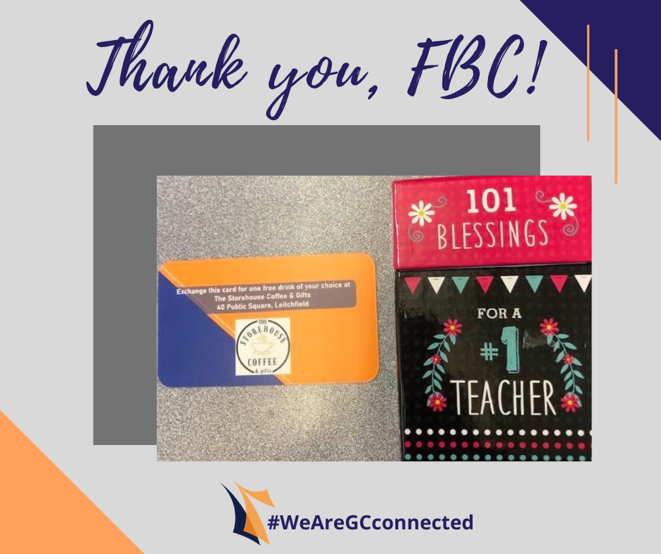 Storehouse Gift card and 101 teacher blessings book