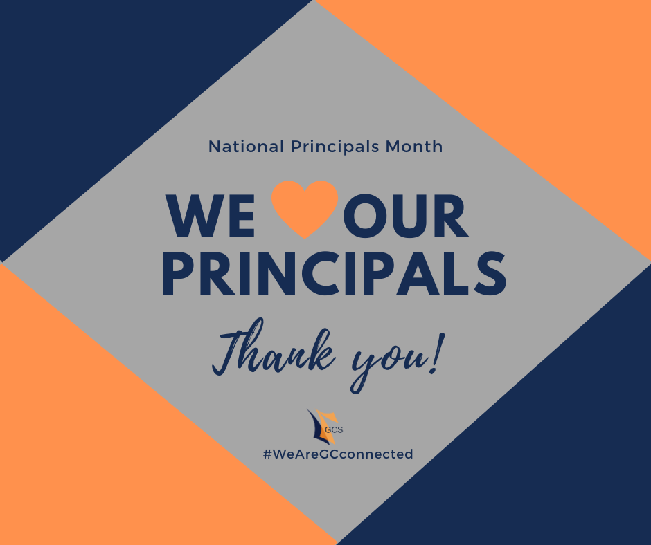National Principals month - Thank you