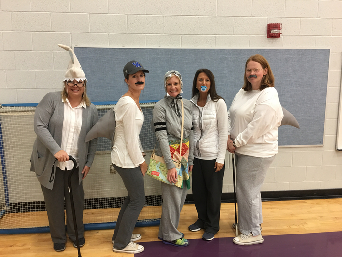 5th Grade Rocked the building with BABY SHARK!
