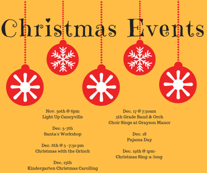 Caneyville Christmas Events
