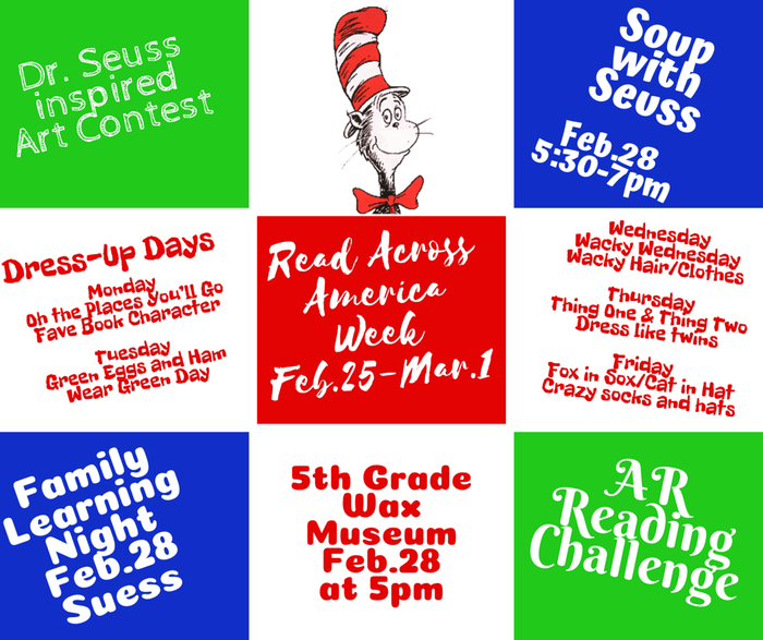 Read Across America Feb28-Mar1