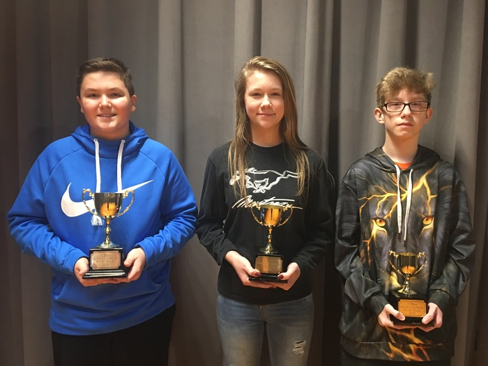 GCMS Spelling Bee winners