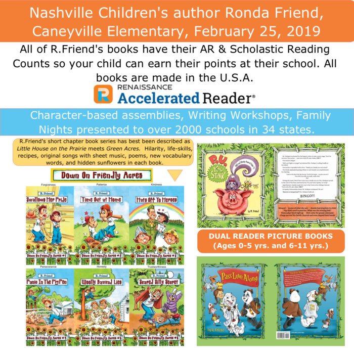 Ronda Friend Book Series