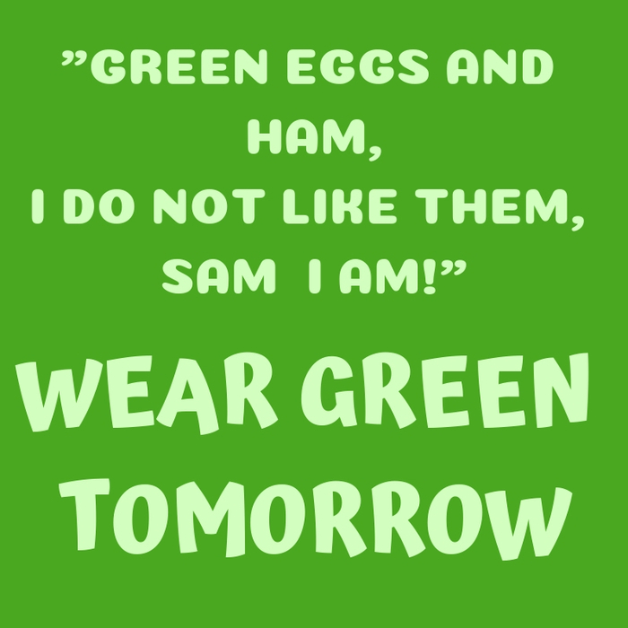 Green Eggs & Ham Day