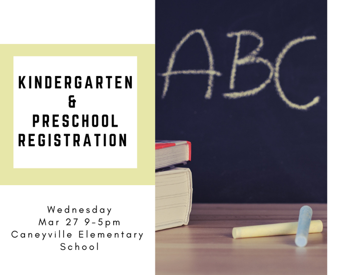 School registration March 27