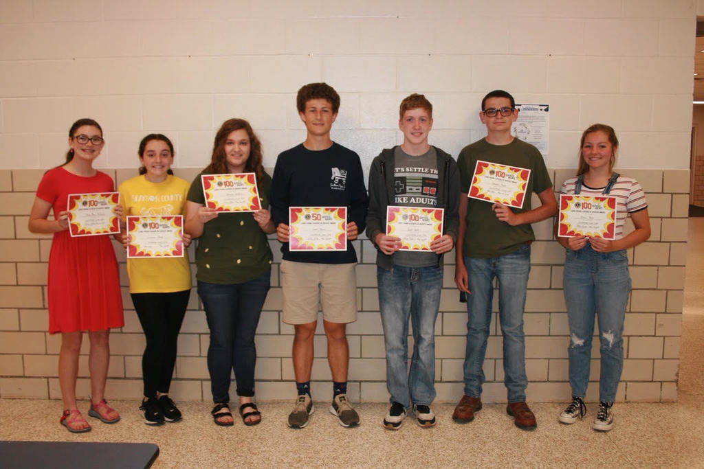 Lions Club Service Award Winners