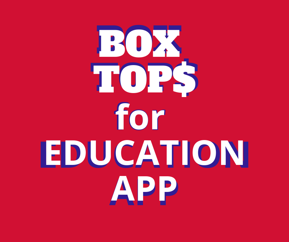 Box Tops For Education App