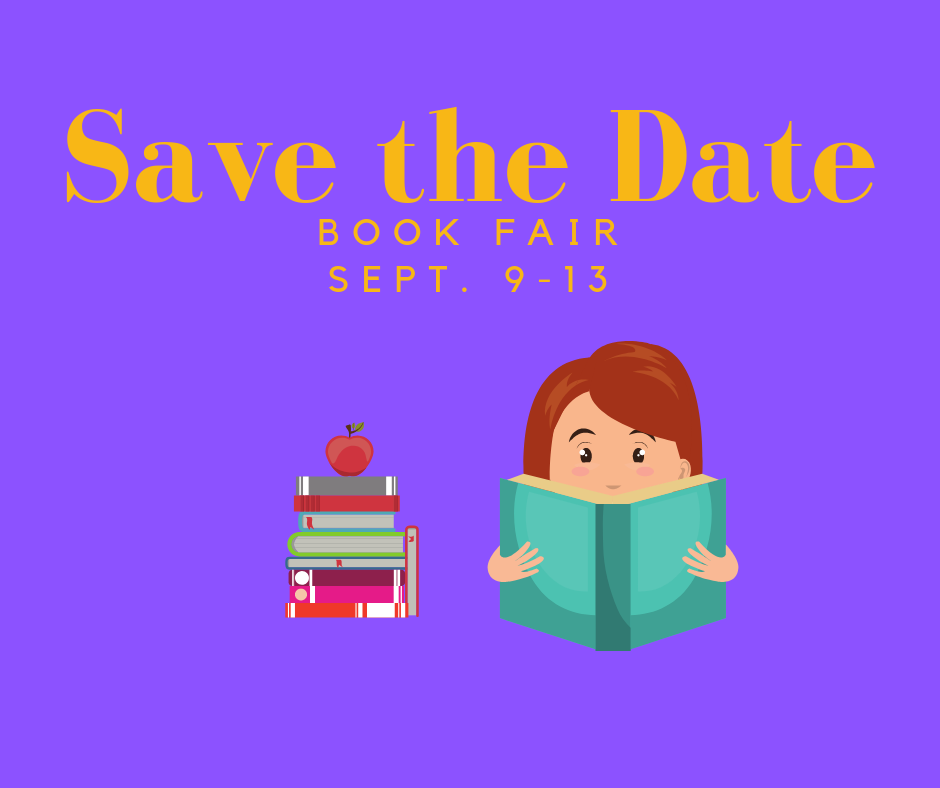 Book Fair September 9 - 13