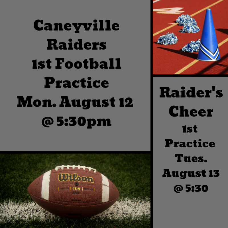 Caneyville Raider Football and Cheer