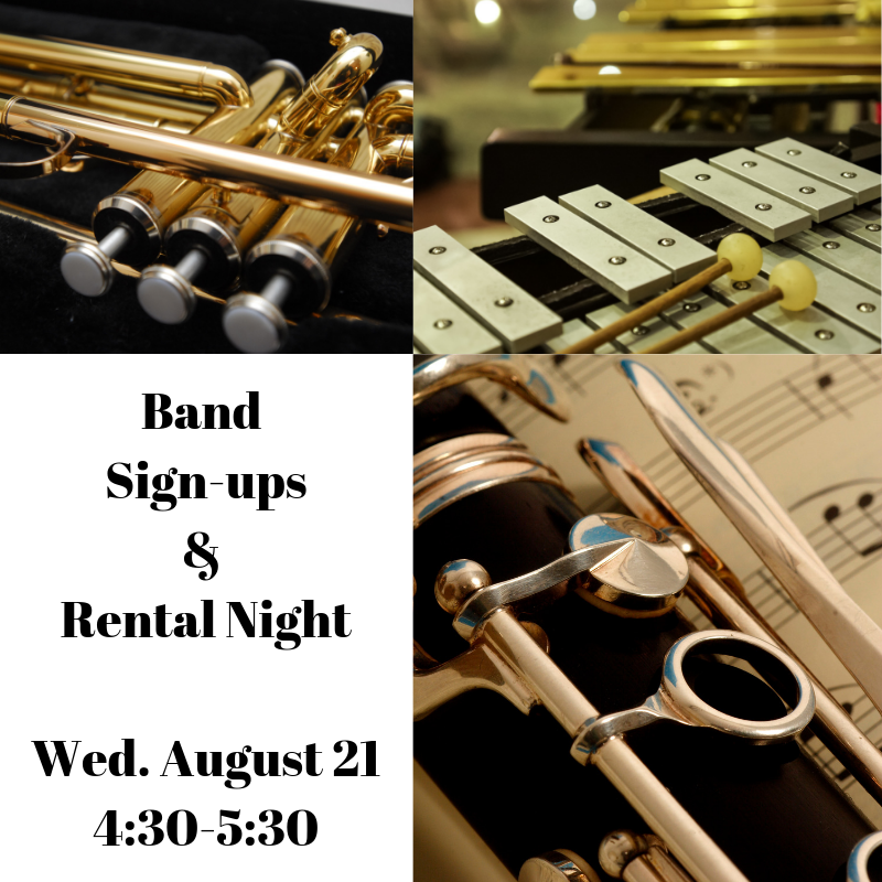 Band Sign-up and Rental Night