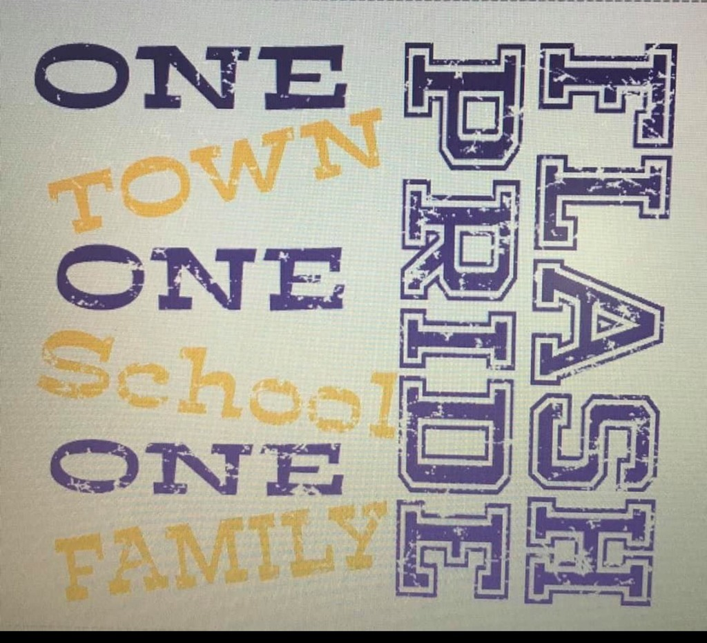 One Town, One School, One Family FLASH PRIDE