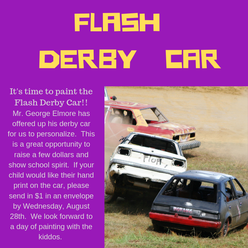 Flash Derby Car