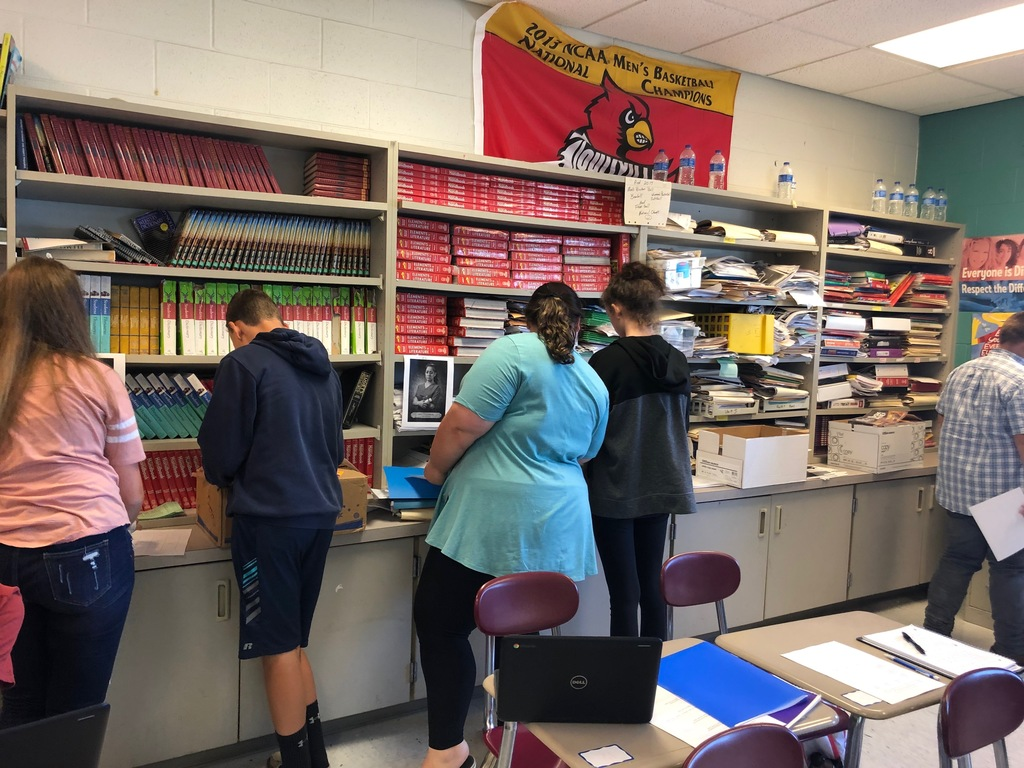 Ms. Horn's gallery walk