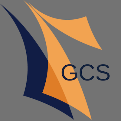 decorative gcs logo