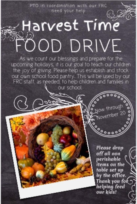 Harvest Time Food Drive