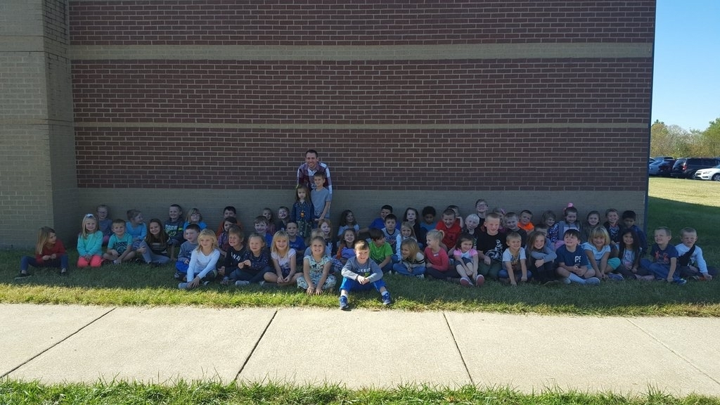 Kindergarten and Mr. Justin Logan from wave 3