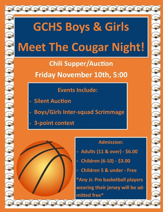 Decorative, Meet the Cougars Night Flier