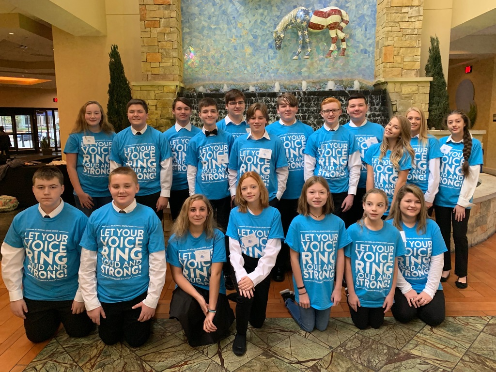 Jr High All State Chorus