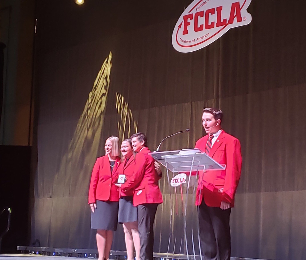 Gracyn Cook FCCLA Stage