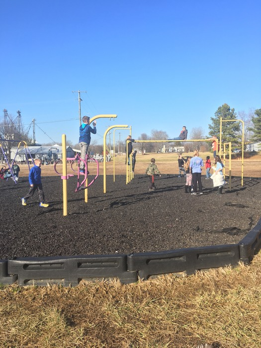 Recess fun in January