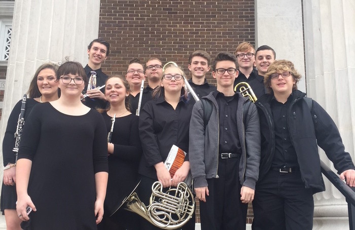 WKU Honors Band - 12 GCHS members
