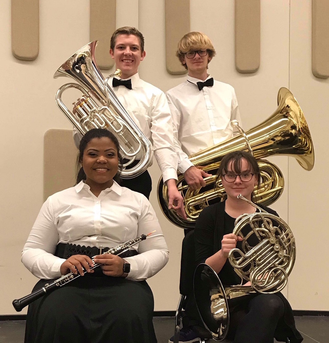 U of L Honors Band - 4 members