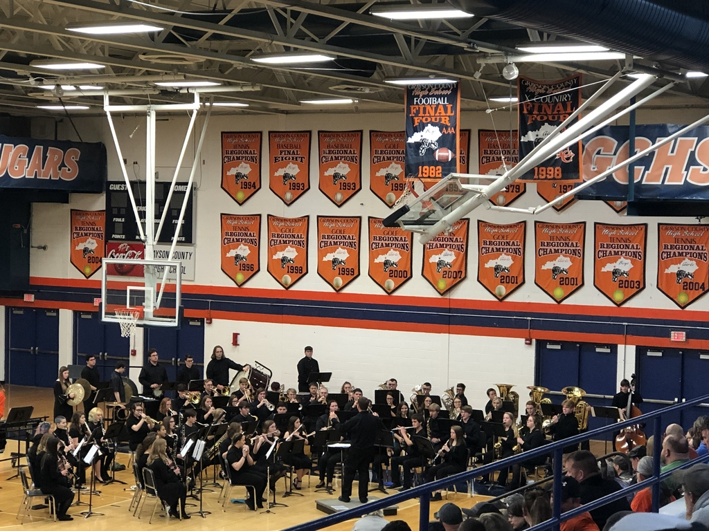 Grayson County High School performed on Tuesday, March 10 in preparation for KMEA festival.