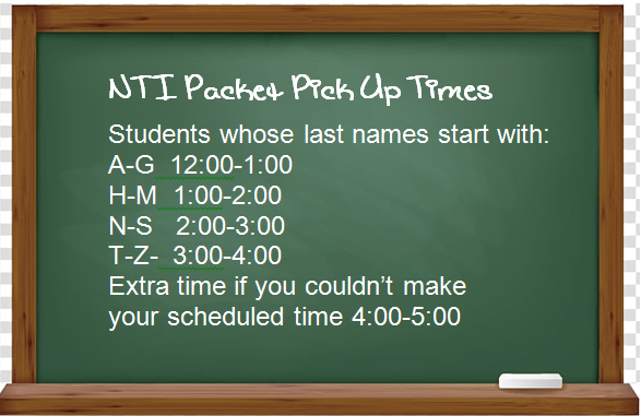 NTI Packet Pick Up