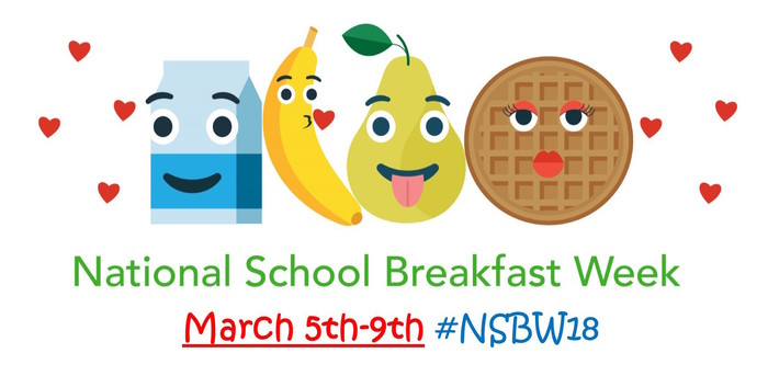 Decorate Natl. School Breakfast WEek