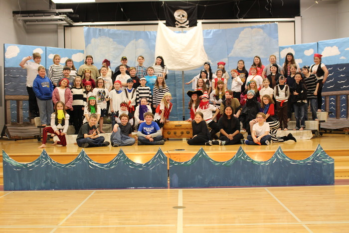 Pirates! The Musical Cast Photo